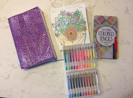 Dealing with Tough Emotions? Learn to Color & Pray