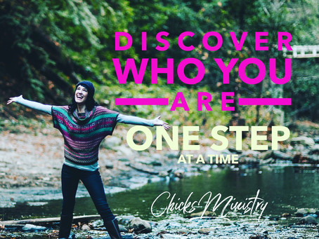 Discover Who You Are One Step At A Time!