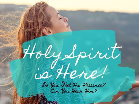 The High Way Journal: Holy Spirit is Here