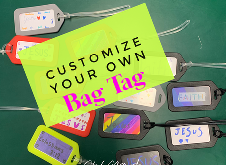 Customize Your Own Bag Tag: Simple & Fun