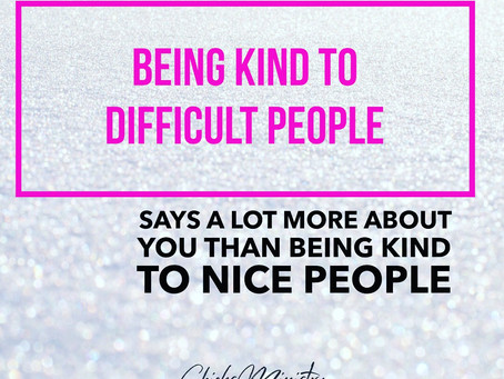 Be Kind In All Circumstances