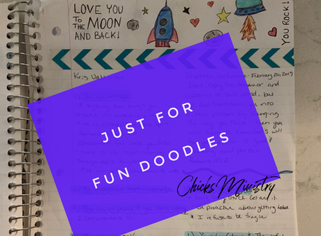 3 Steps to Doodle and Grow Your Faith