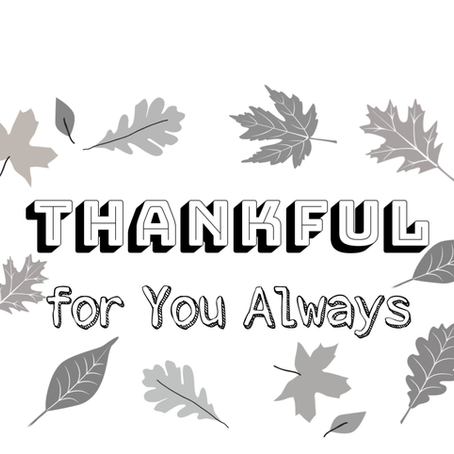 Thankful For You Always Card