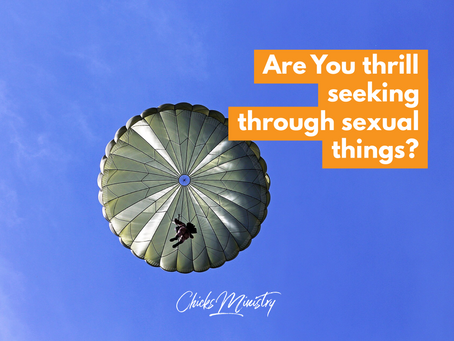 Are You Thrill Seeking Through Sexual Things?