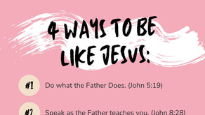30 Day Prayer Challenge to Be More Like Jesus
