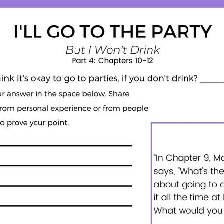 Good Girls Have Secrets Devo: Part 4 Going to Parties