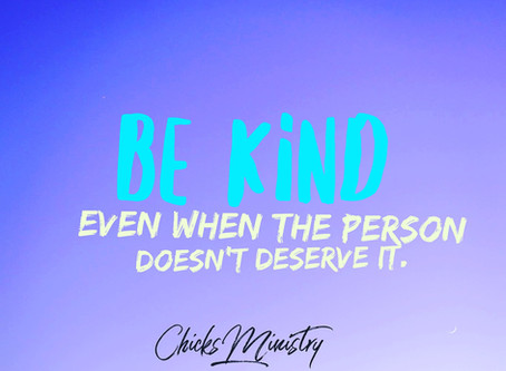 Be Kind Regardless