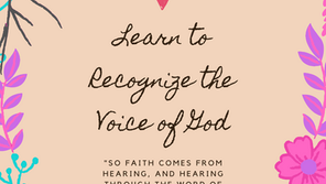Learn to Recognize the Voice of God