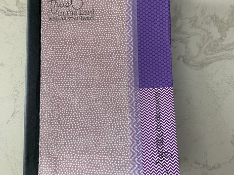 Mod podge Journal to Fit Your Style