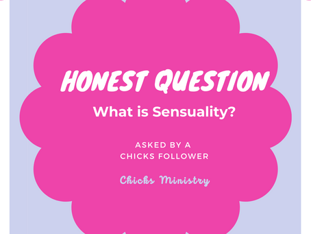 Honest Question: What is Sensuality versus Sexuality