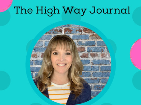 The High Way Journal: Steps to Complete Each Page