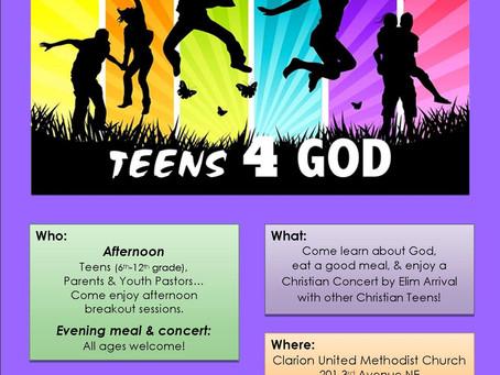 Teens 4 God - 2016 - Senior Project