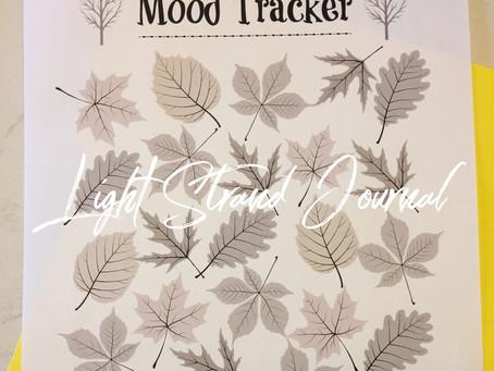 Fall Mood Tracker For Light Strand Journal