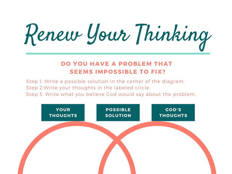 Renew Your Thinking: How to Have the Mind of Christ (Part 1)
