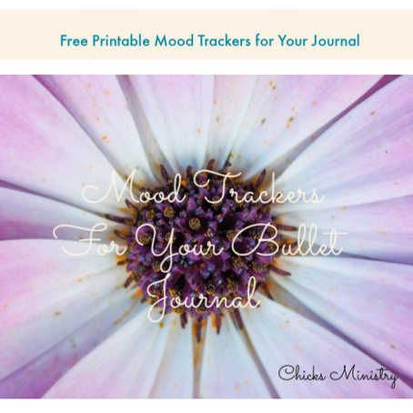 5 Printable Mood Trackers for Your Bullet Journal or Light Strand Journal