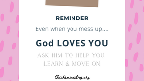 God Loves You: Even When You Mess UP