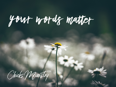 Kindness to Yourself: Your Words Matter