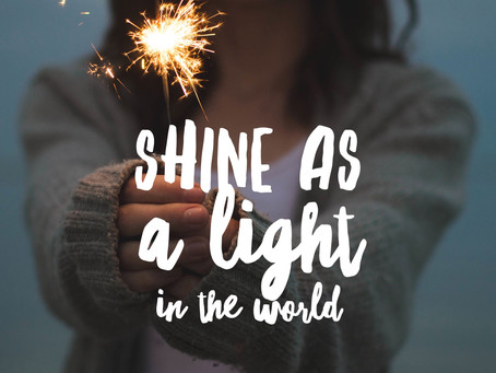 Be A Light By Showing Kindness and Love