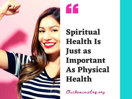 The High Way Journal: Maintaining Spiritual Health