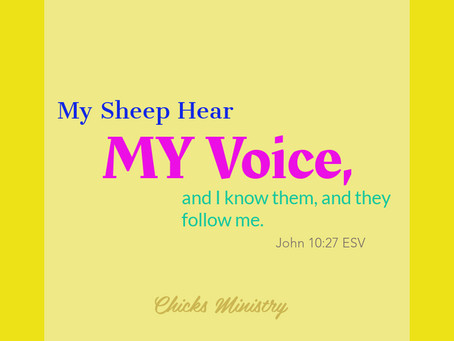How to Begin Hearing God's Voice