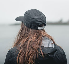 Woman Looking At Lake