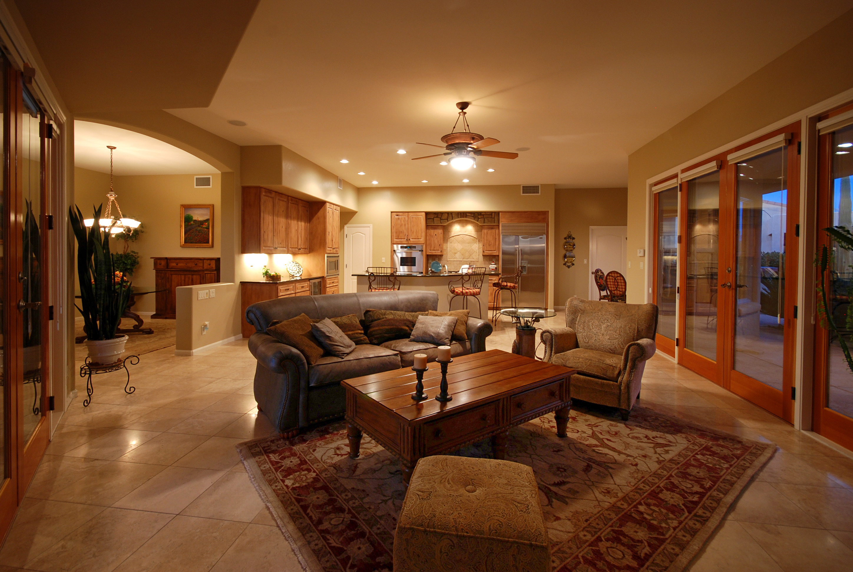 Family Room & Kitchen, Tucson, AZ