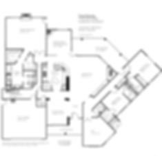 Sample Floor Plan diagram of a home