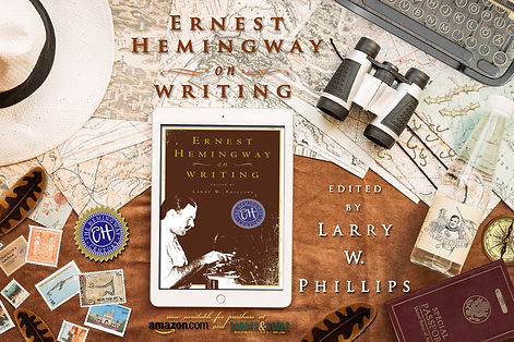 Earnest Hemingway on Writing Wallpaper Scene