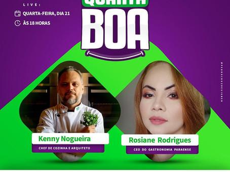 "Kenny Nogueira participa da ""Quarta Boa"" desta semana"