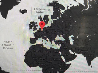 Invitasjon til scenisk Etyde#1, Frankfurt a.M