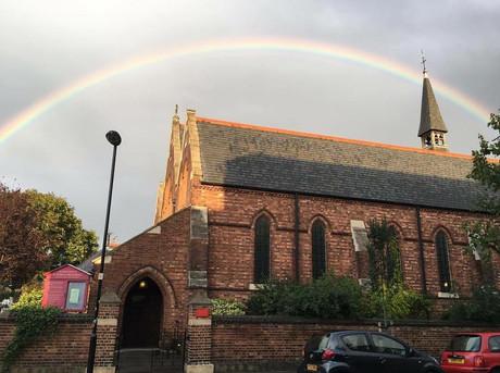 Autumn Rainbow over church.jpg