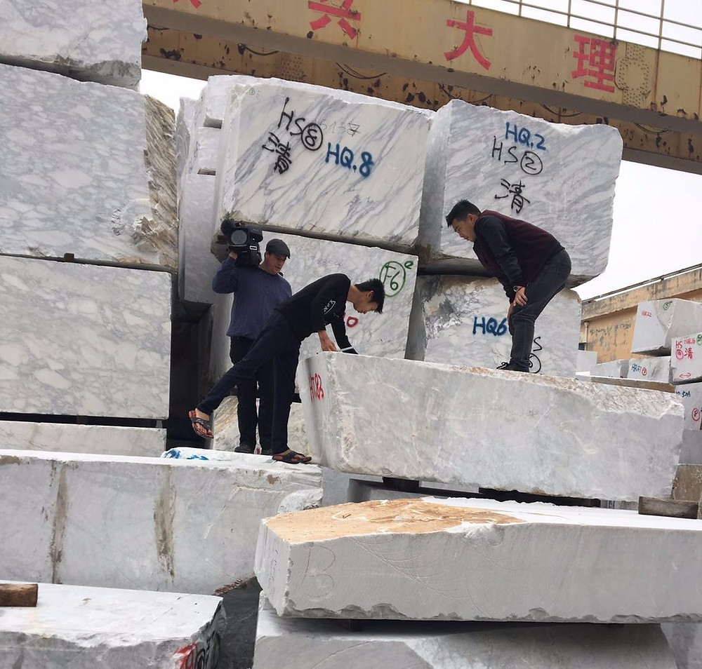 Choosing Marble Blocks