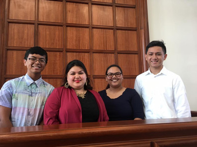 31st GYC Leadership at the Rededication of the new Guam Congress Building