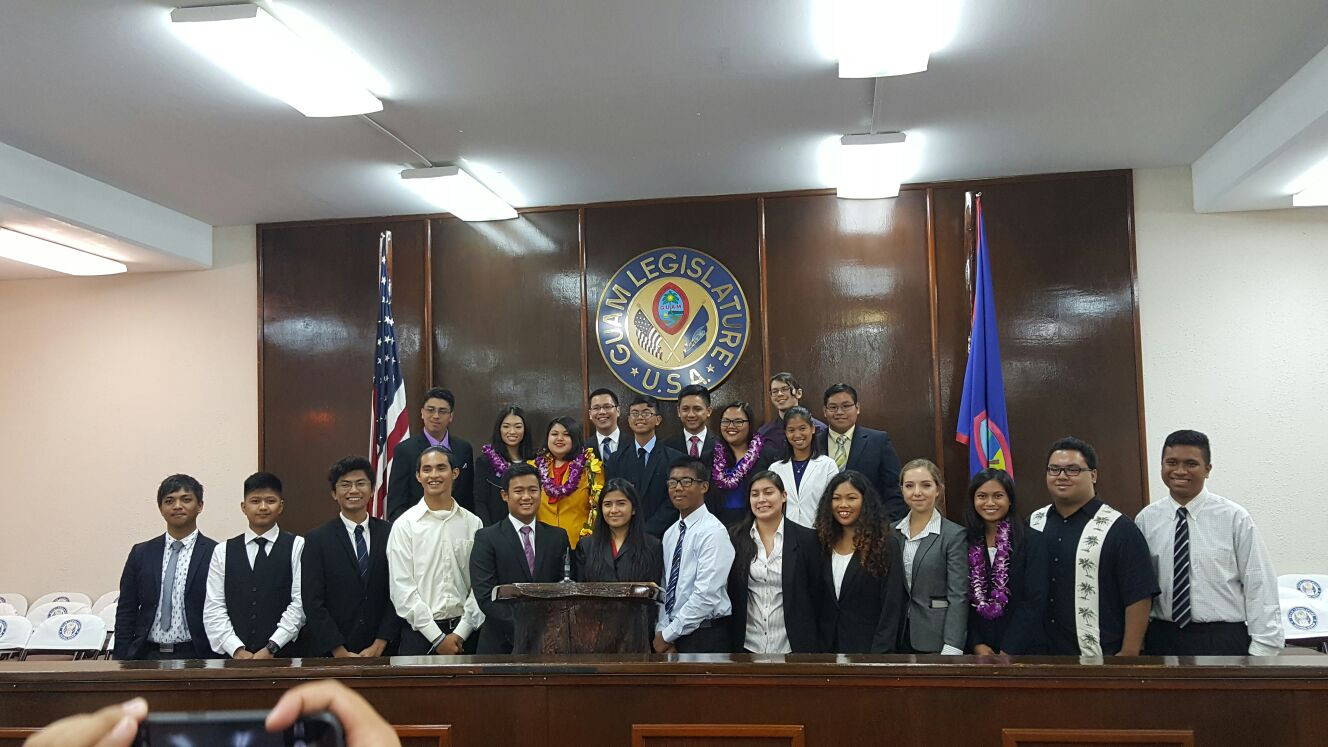 Inauguration of the 31st Guam Youth Congress