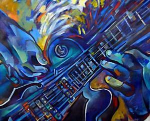 La mujer es como una guitarra