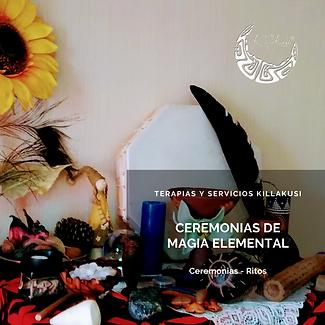 Ceremonias Magia Elemental