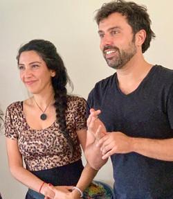 Pablo Flores y Carolina Salamanca