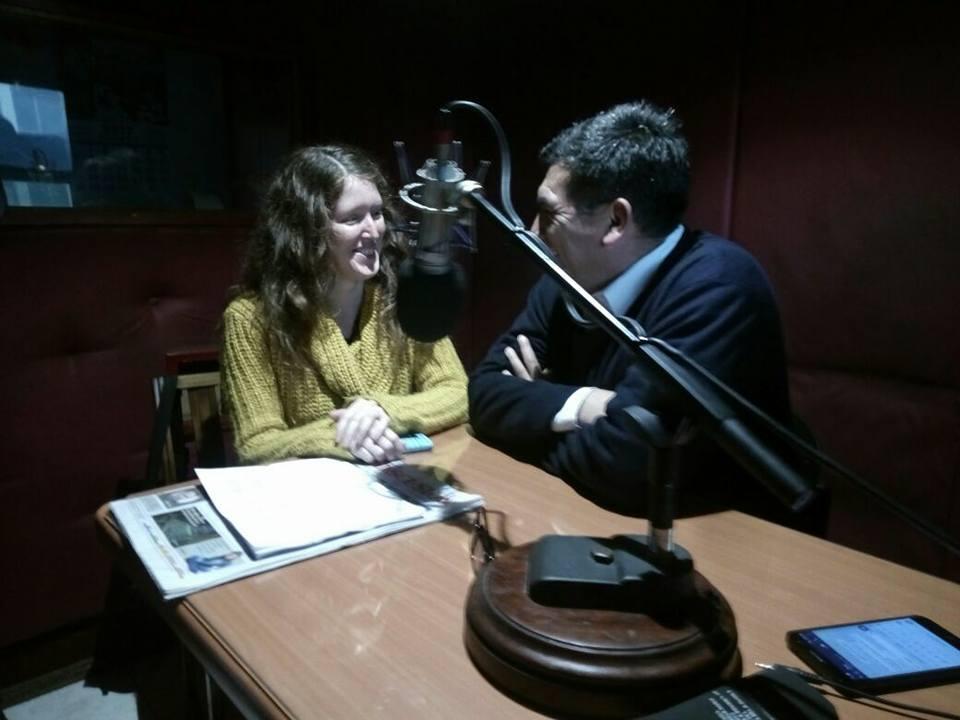Entrevista radio Isadora Chillán