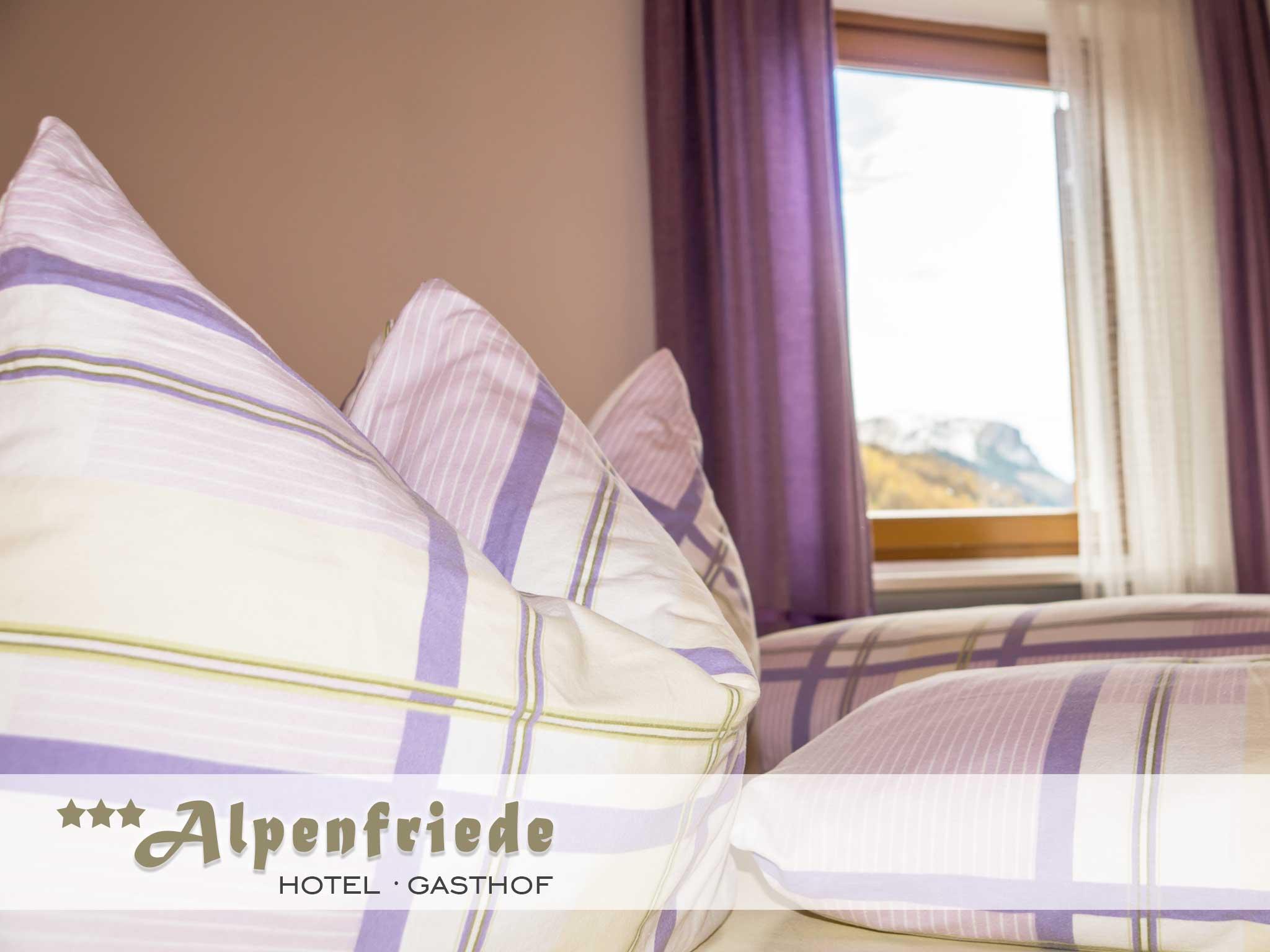 Zimmer Hotel Alpenfriede