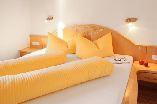 Schlafzimmer Kombi beider Appartements