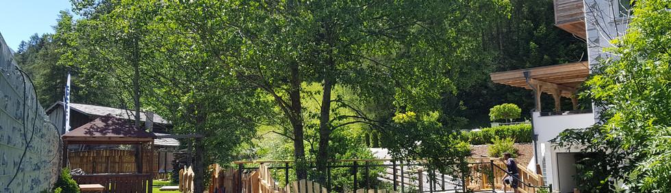 Alte Muehle Nauders Gartenanlage