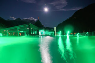 Hotel Almhof Nauders - Sky Pool Nachtauf