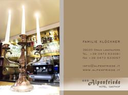 Adresse Hotel Alpenfriede