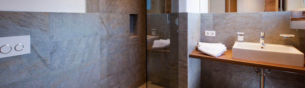 Alte Muehle Nauders Badezimmer