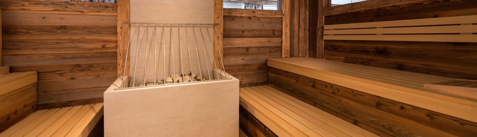Alte Muehle Nauders Wellnessbereich Sauna