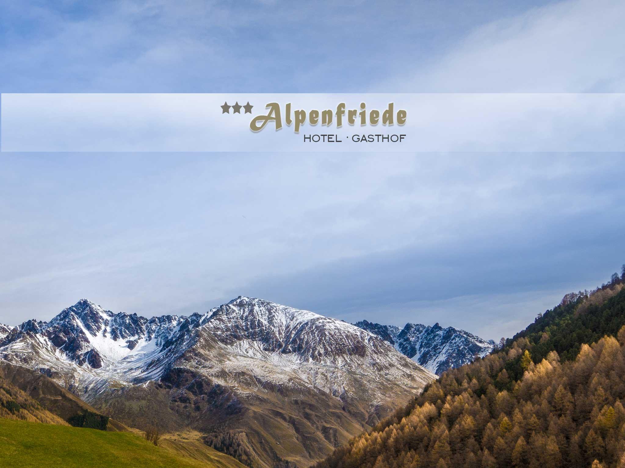 Ausblick Hotel Alpenfriede