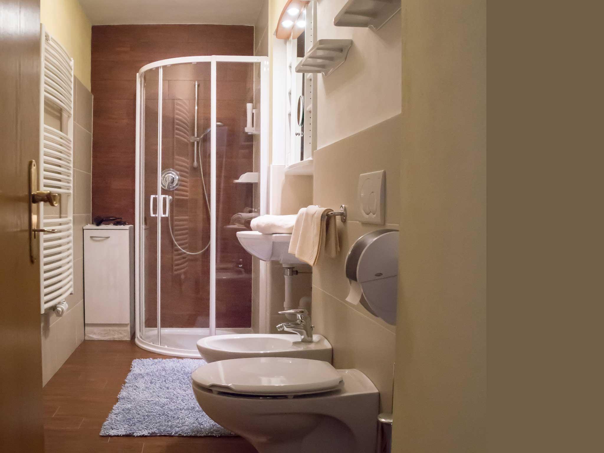 Badezimmer Hotel Alpenfriede