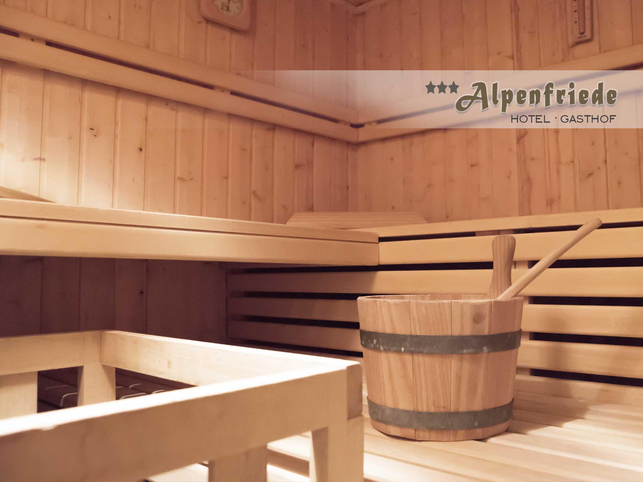 Sauna Hotel Alpenfriede Langtaufers