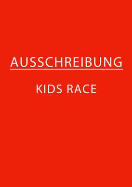 Ausschreibung KidsRace