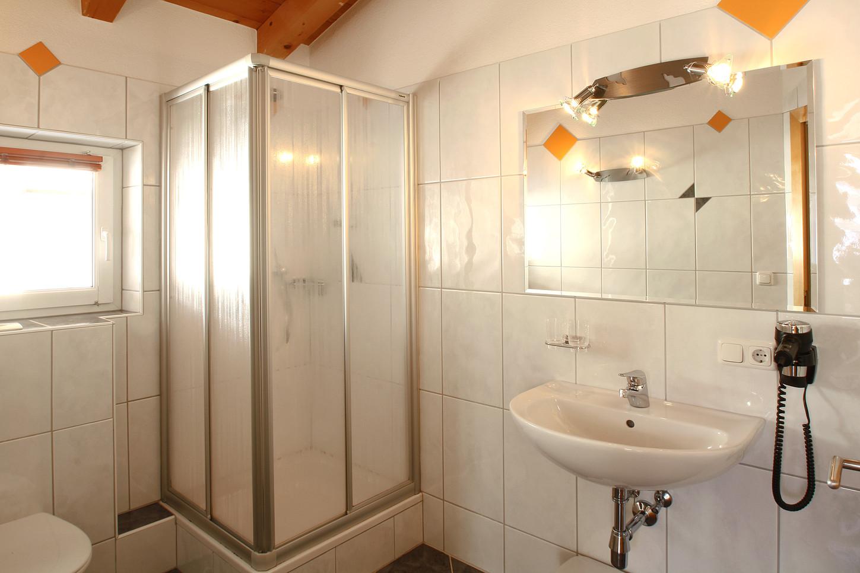 Badezimmer Apart Dorfblick
